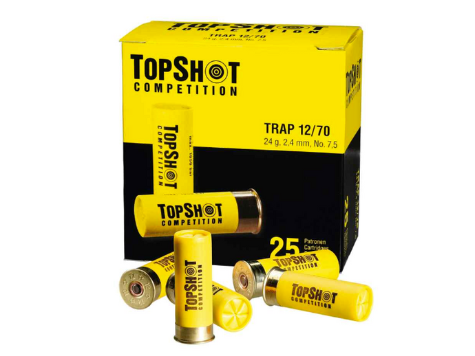 TopShot 12/70 2,4mm 24gr Trap 25 Stk.