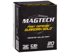Magtech 9 mm Kurz Guardian Gold JHP 5,5g/85grs. 20 Stk.