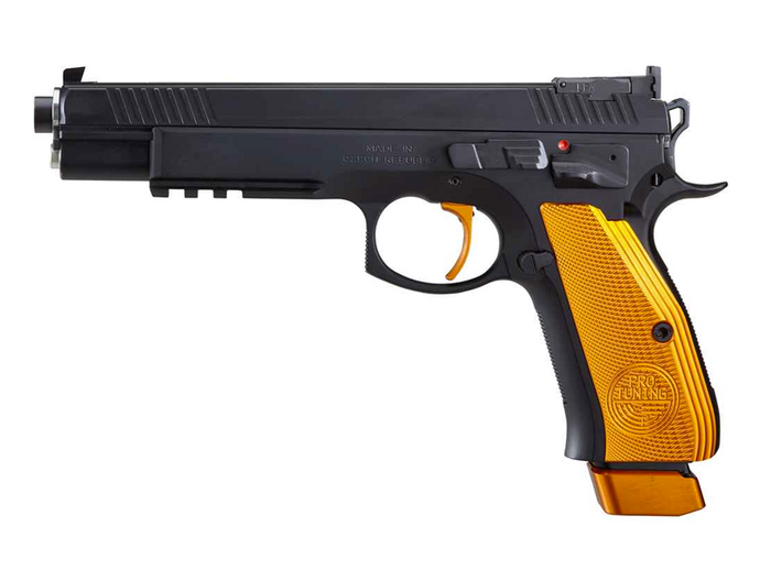 CZ 75 SP-01 TAIPAN Orange 9mm Luger 6'' SAO
