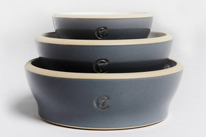 DOG BOWL JAMIE BLUE - Lavish Tails