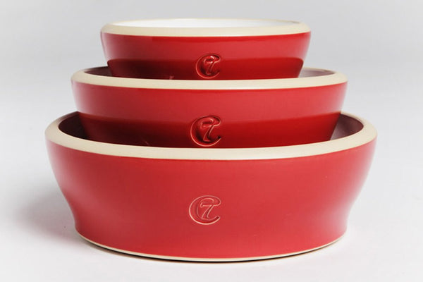 DOG BOWL JAMIE RED - Lavish Tails