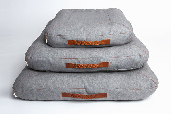 DOG BED DREAM HEATHER GREY - Lavish Tails