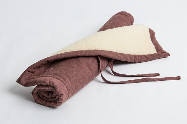 DOG MAT HOSTEL TWEED PURPLE - Lavish Tails