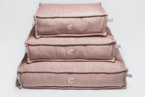 DOG BED COZY MÉLANGE ROSÉ - Lavish Tails
