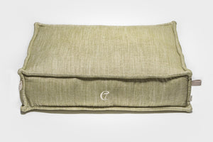 DOG BED COZY MÉLANGE GREEN - Lavish Tails