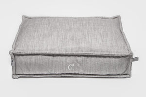 DOG BED COZY MÉLANGE GREY - Lavish Tails