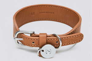 DOG COLLAR VONDELPARK TOFFEE - Lavish Tails