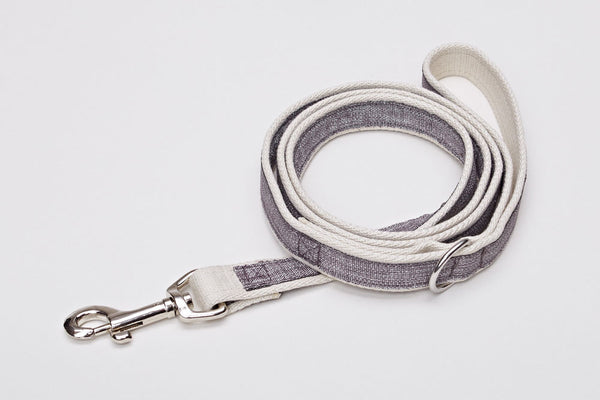 DOG LEASH COCO TAUPE - Lavish Tails