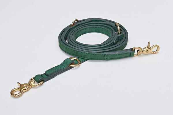 DOG LEASH TIERGARTEN PARK GREEN - Lavish Tails