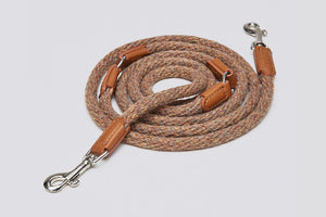 DOG LEASH VONDELPARK TOFFEE - Lavish Tails