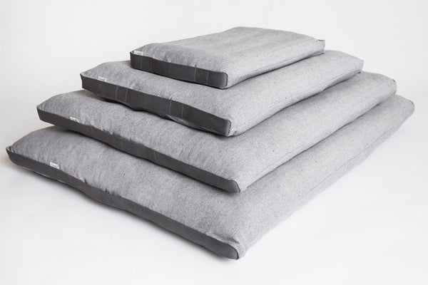 DOG BED SIESTA TWEED GREY - Lavish Tails