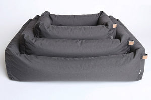 DOG BED SLEEPY GRAPHITE WATERPROOF - Lavish Tails