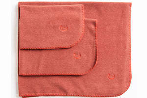 DOG BLANKET FLEECE ORANGE - Lavish Tails