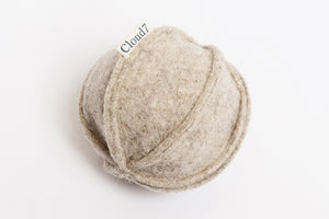 FELT TOY BALL GREY - Lavish Tails