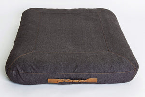 DOG BED DREAM HEATHER BROWN - Lavish Tails