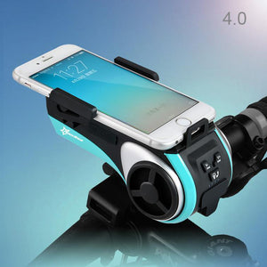 5-in-1 Bicycle Speaker & Phone Holder