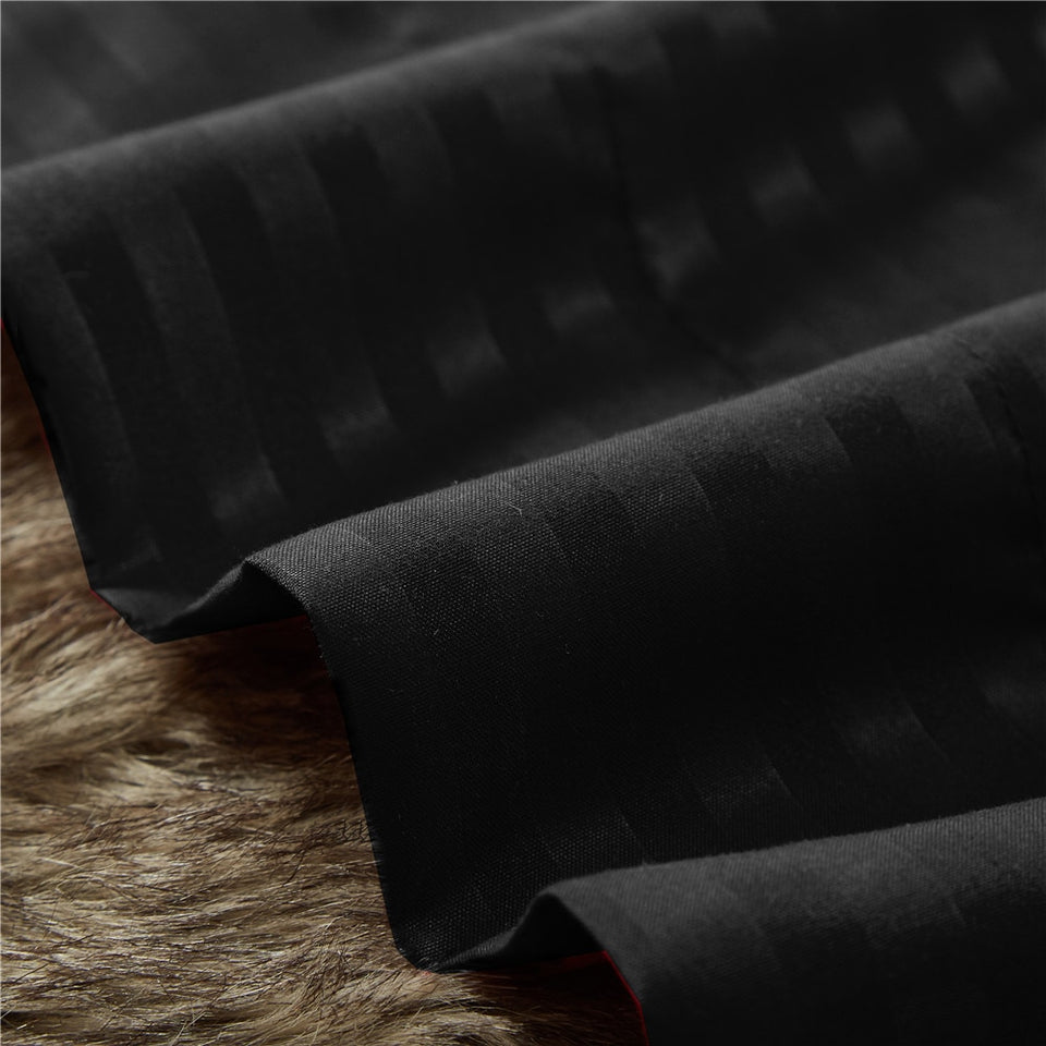 Bedding Sheet Set HIGHEST QUALITY Brushed Microfiber 1800 Wrinkle Fade Stain Resistant - Hypoallergenic - 3 Piece (Twin, Black)