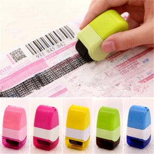 Roller Stamp Perfect for Personal Information Privacy Seal Durable Identity Theft Protection Drop Shipping Security Office