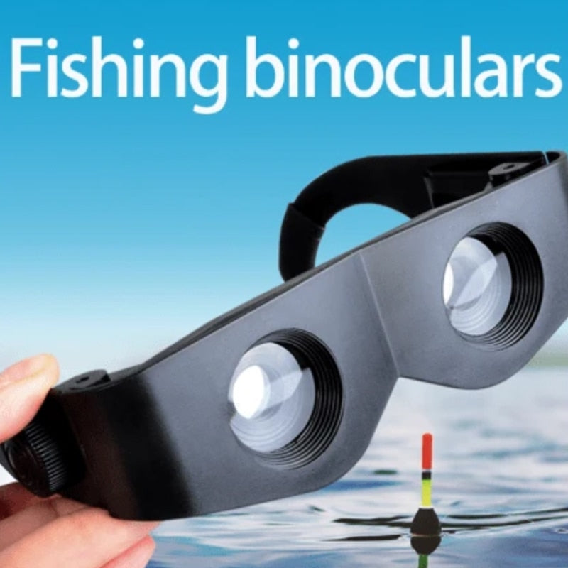 Adjustable Eyewear Fishing Glasses 3-6 Times Zoom Portable Magnifier Wearable Binoculars Binoculars Telescope Drop Shipping