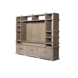 BRUNO BOOKCASE AND AV CABINET
