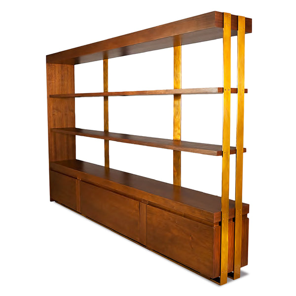 DECIMUS SHELVING UNIT LARGE BRONZE GOODS