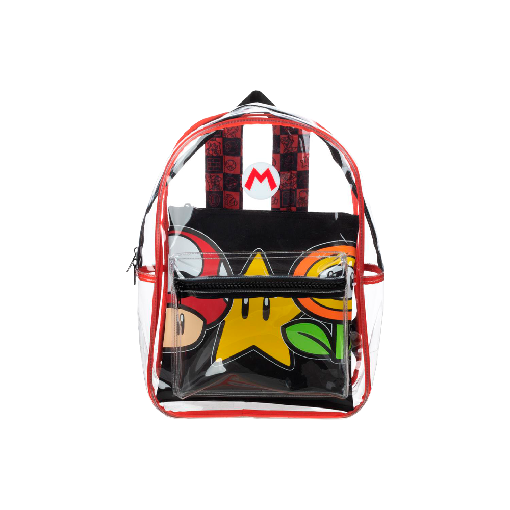 Super Mario Clear Backpack