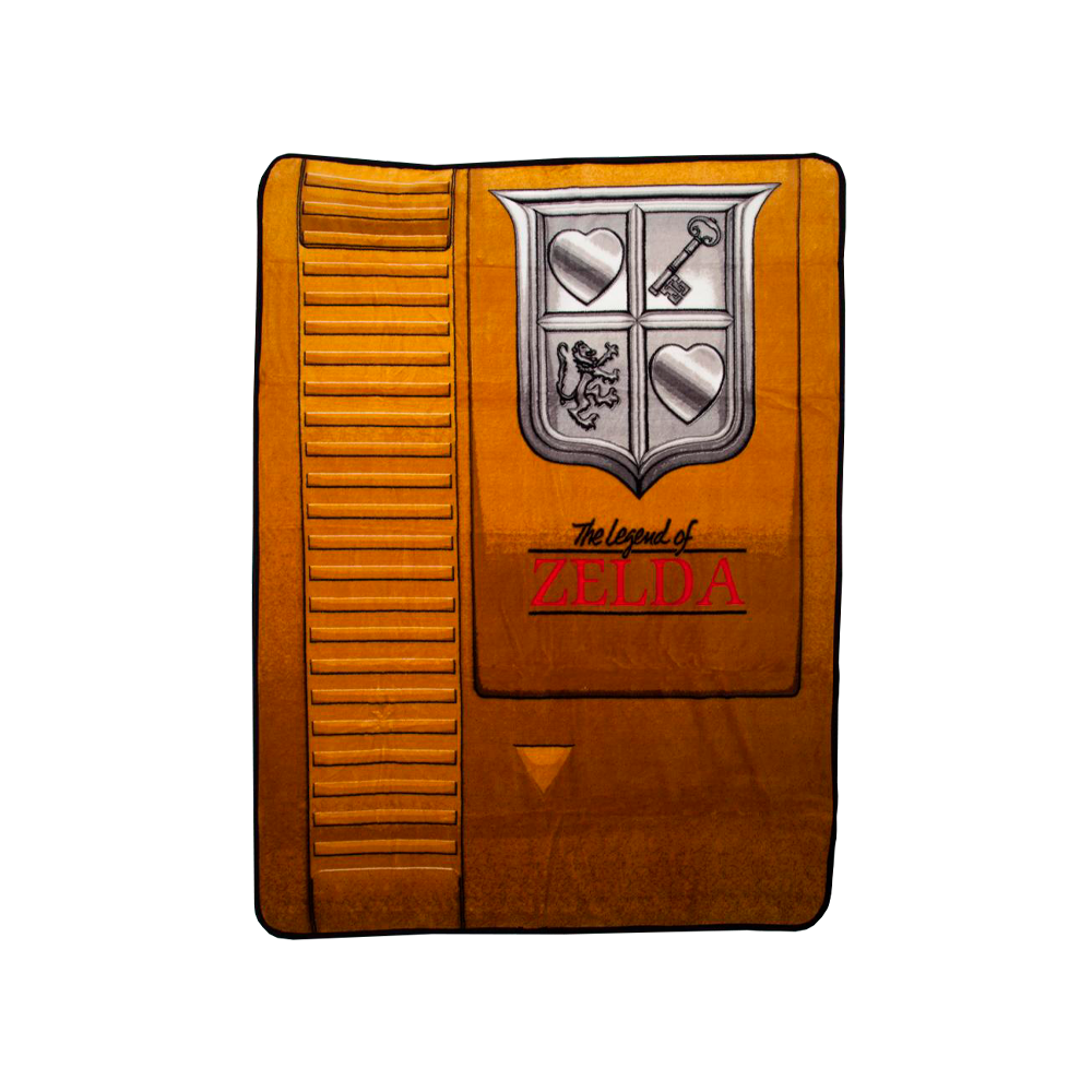 Nintendo Zelda Gold Cartridge Throw