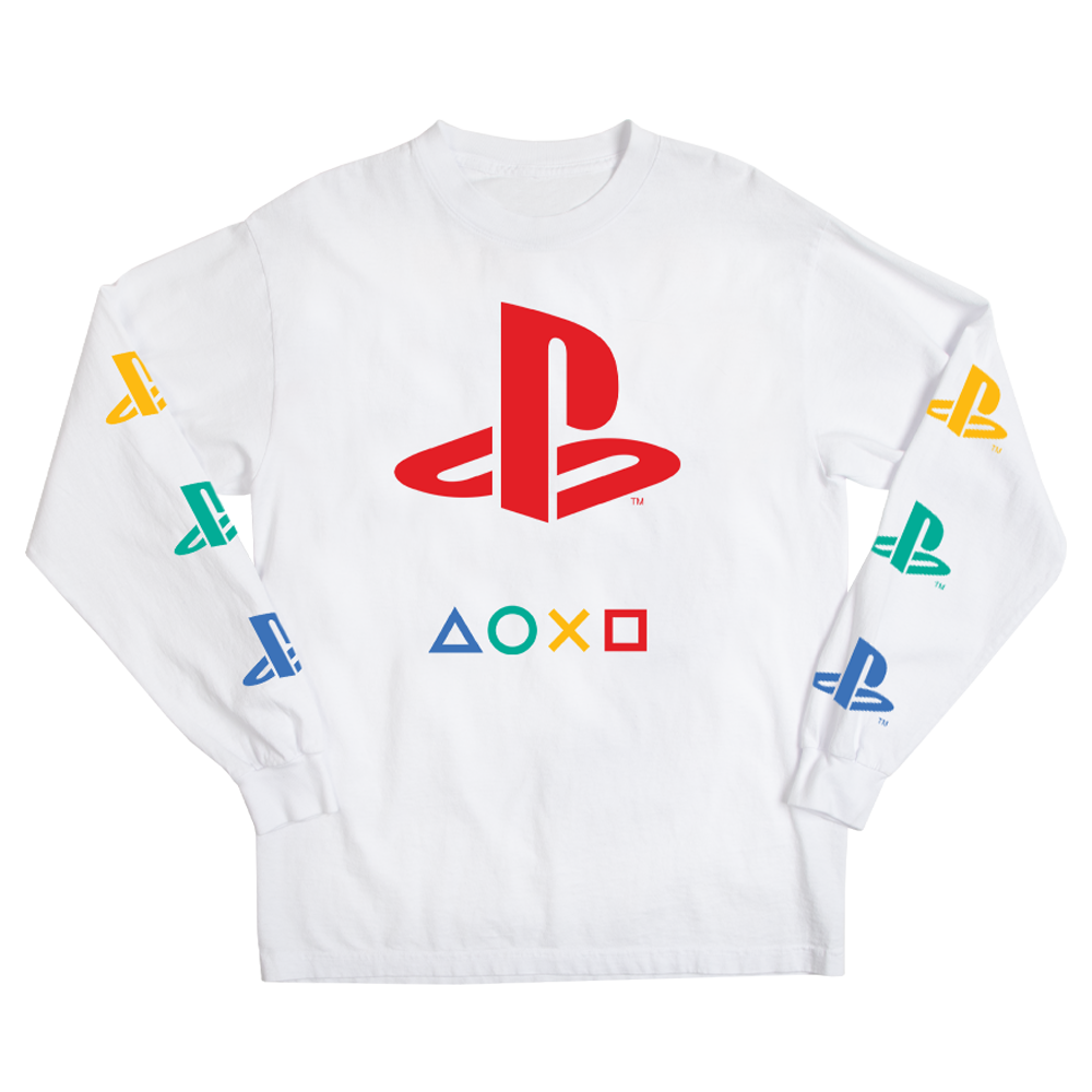 PlayStation Logo Long Sleeve