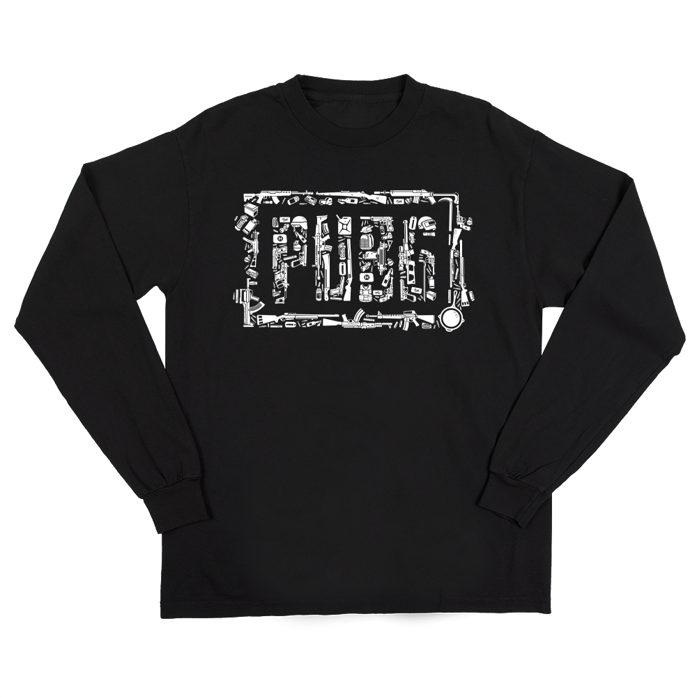 PUBG Fan Logo Long Sleeve