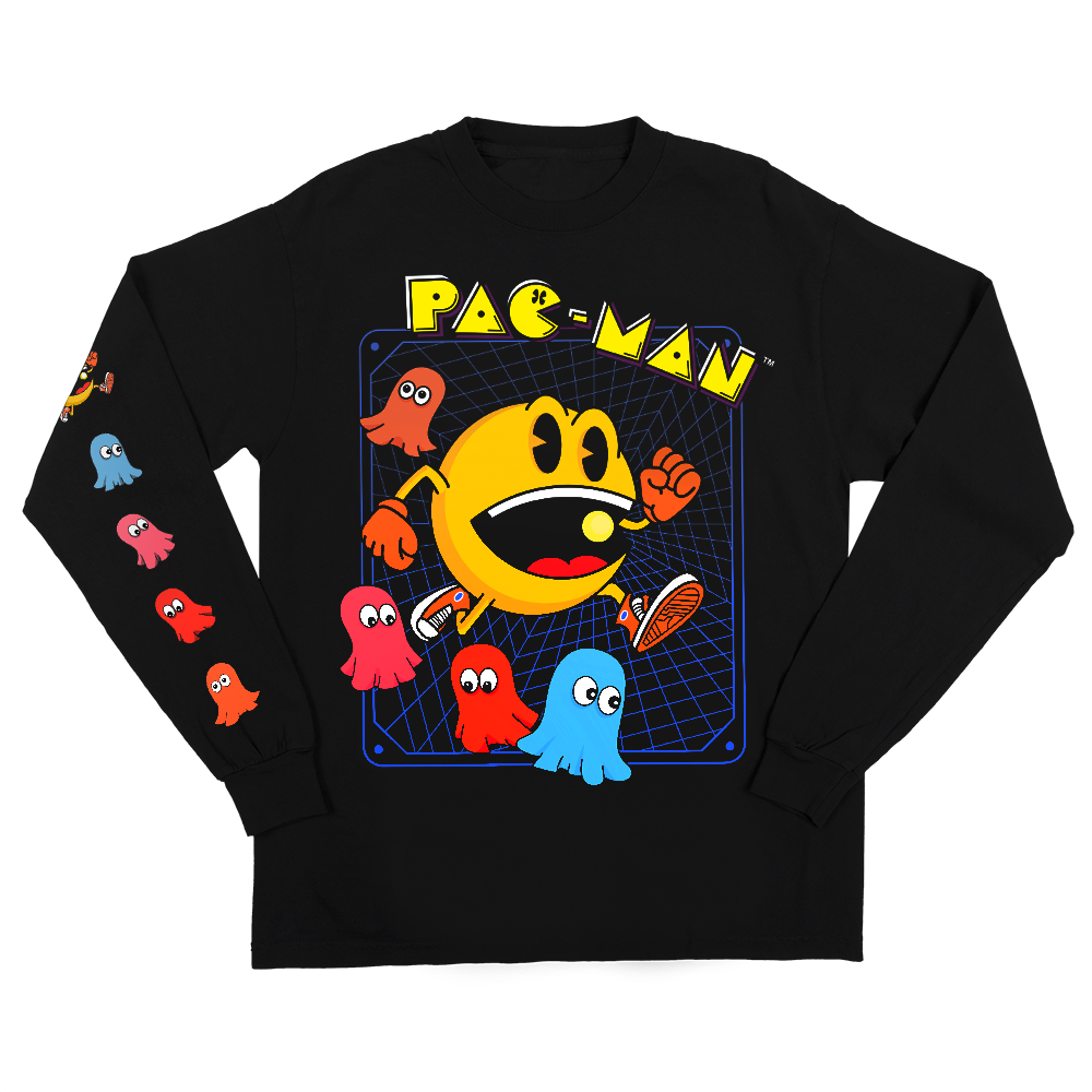 Pac-Man Cast Grid Long Sleeve