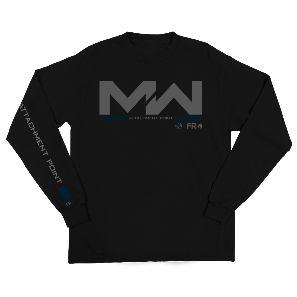 Modern Warfare Hud Black Long Sleeve