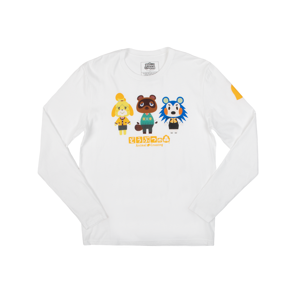 Animal Crossing Kanji Long Sleeve
