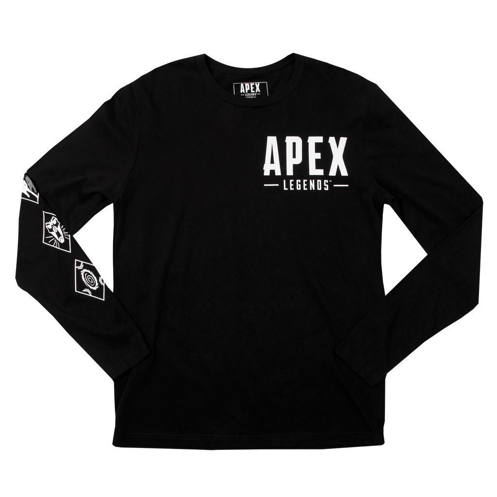 Apex Legends Wraith Black Long Sleeve