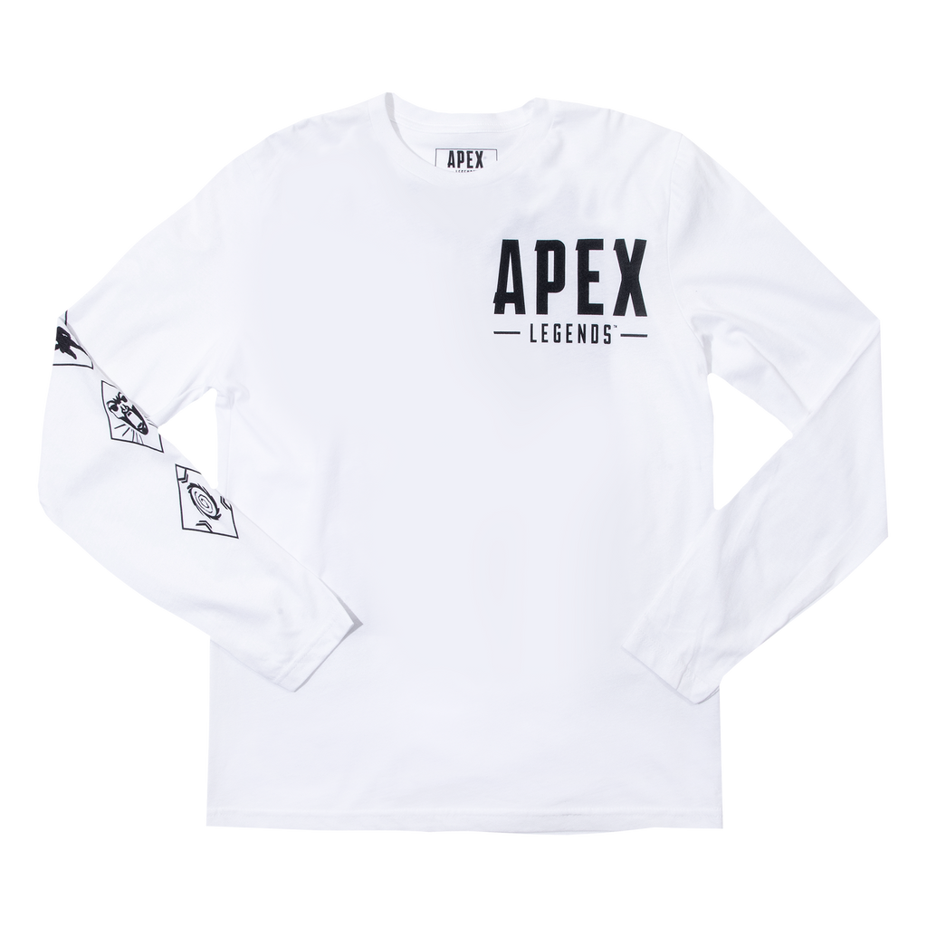 Apex Legends Wraith White Long Sleeve