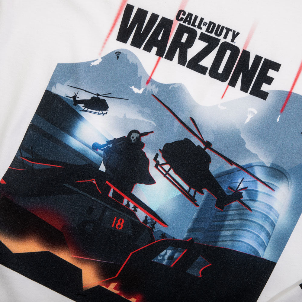 Call of Duty White Long Sleeve