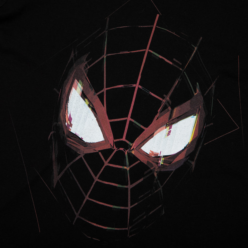 Miles Morales Be Greater Black Long Sleeve