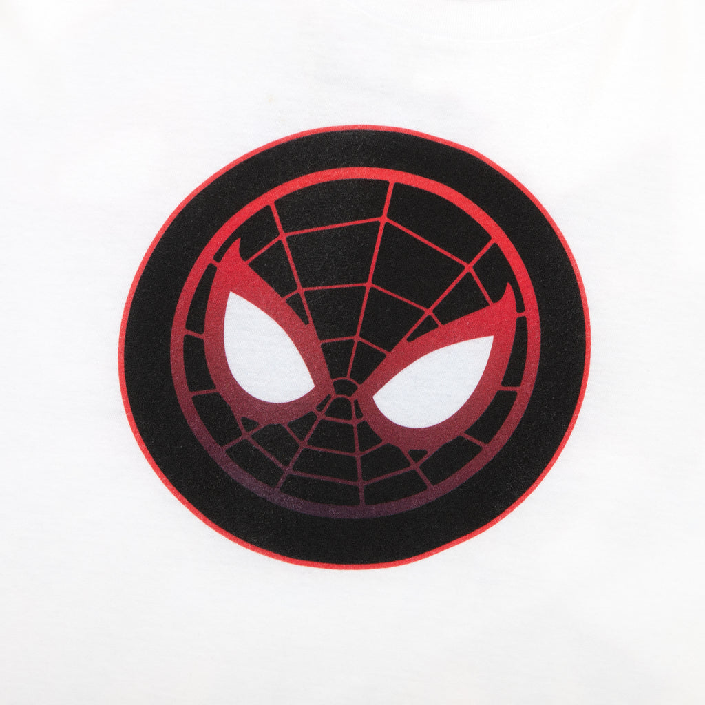 Miles Morales Angles White Long Sleeve