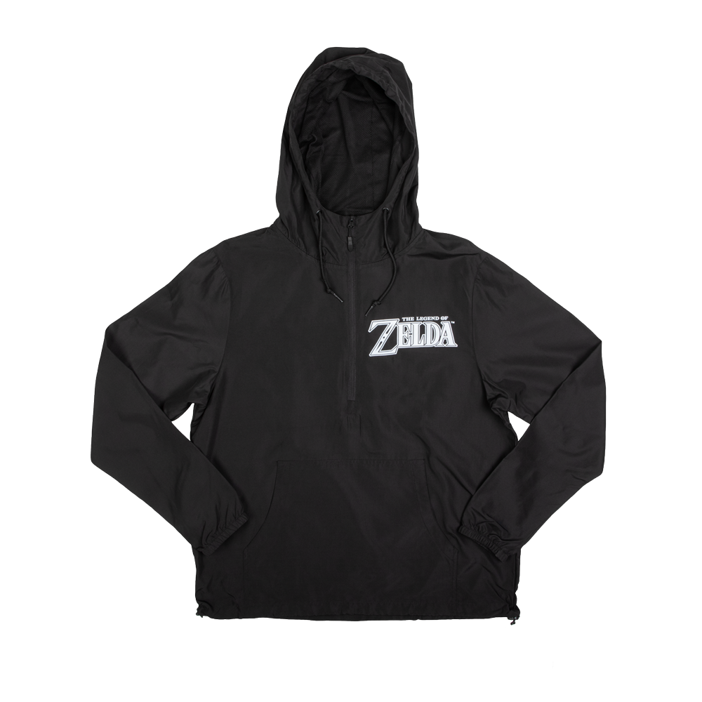 Zelda Black Windbreaker