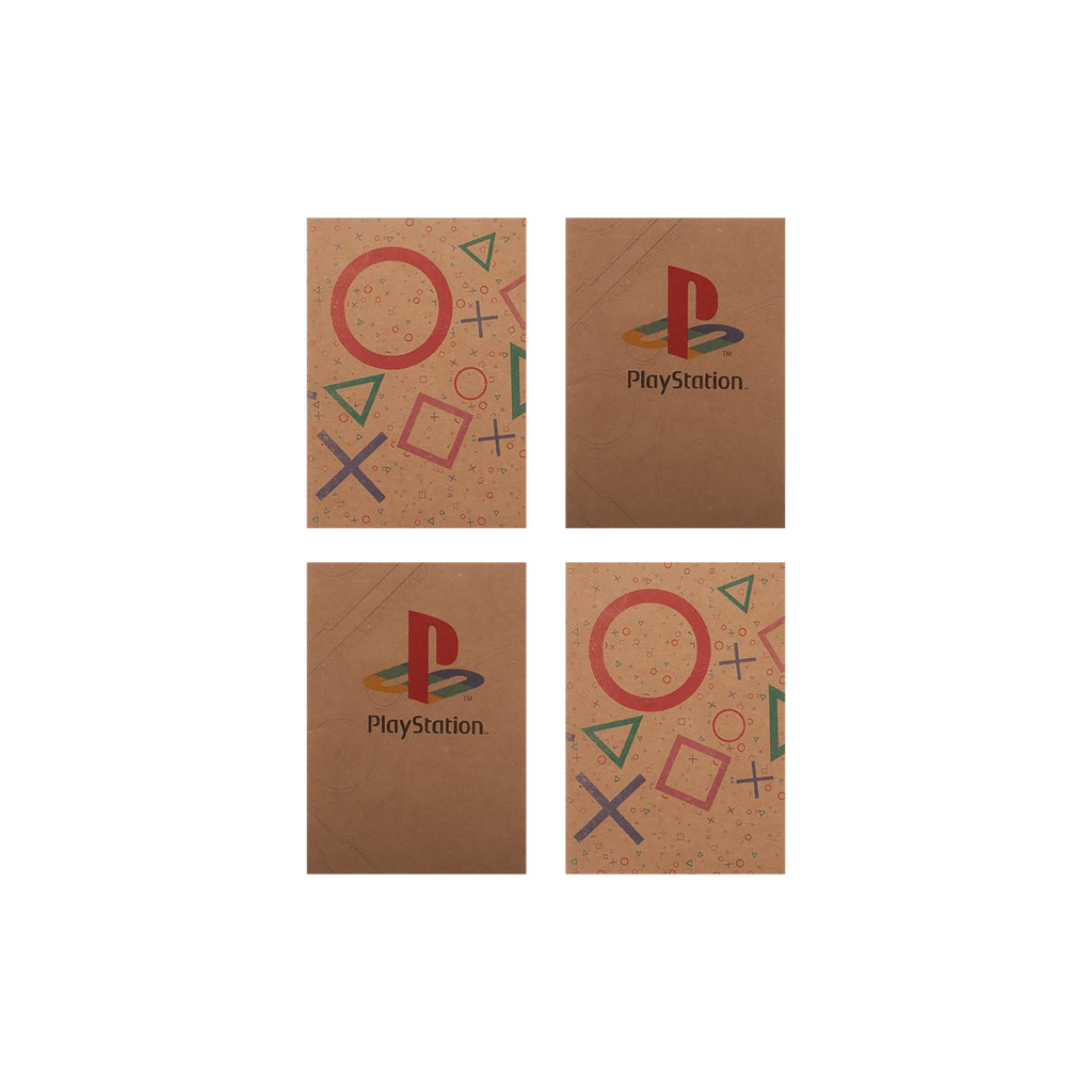 PlayStation Set of 4 Pocket Journals