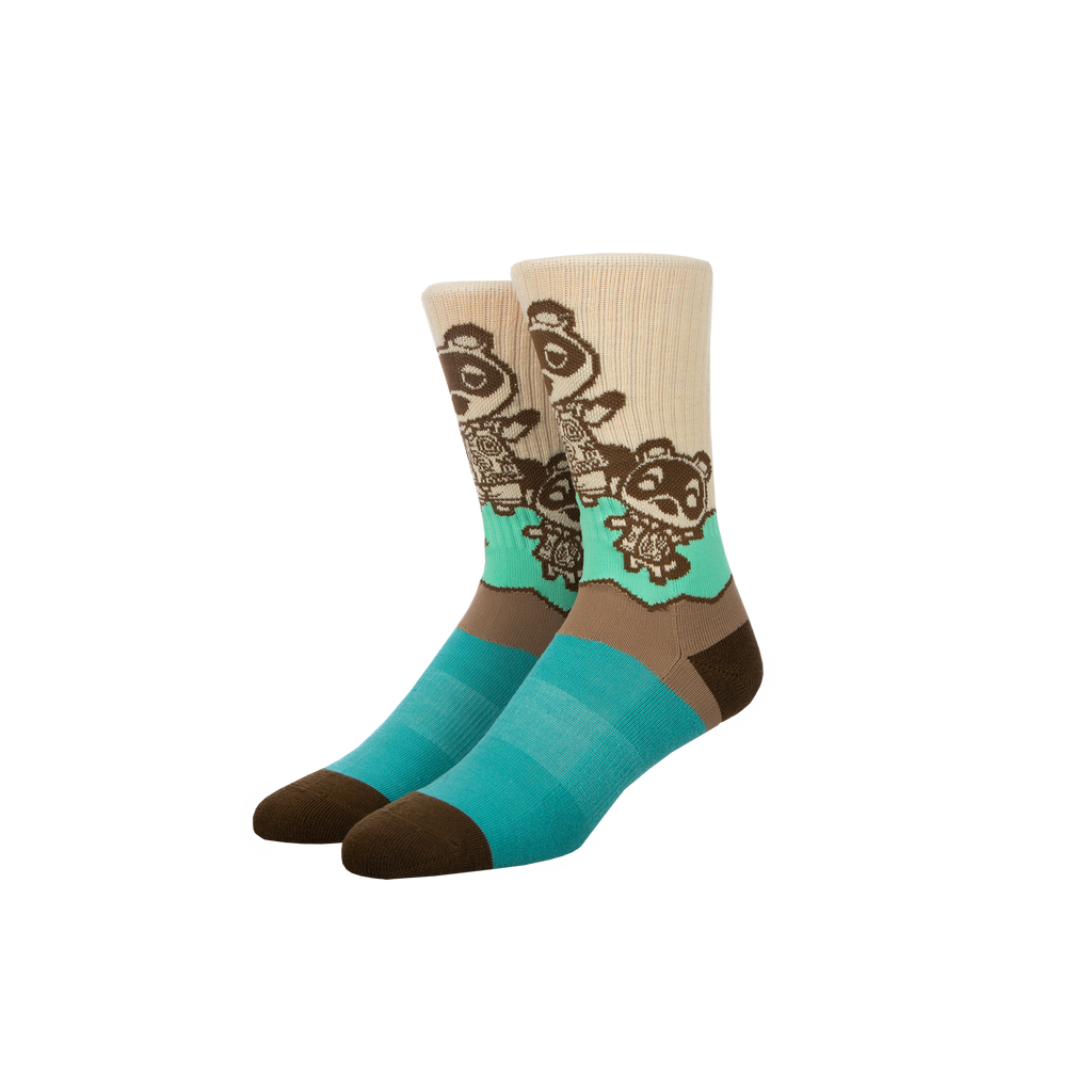 Animal Crossing New Horizons Nook Socks