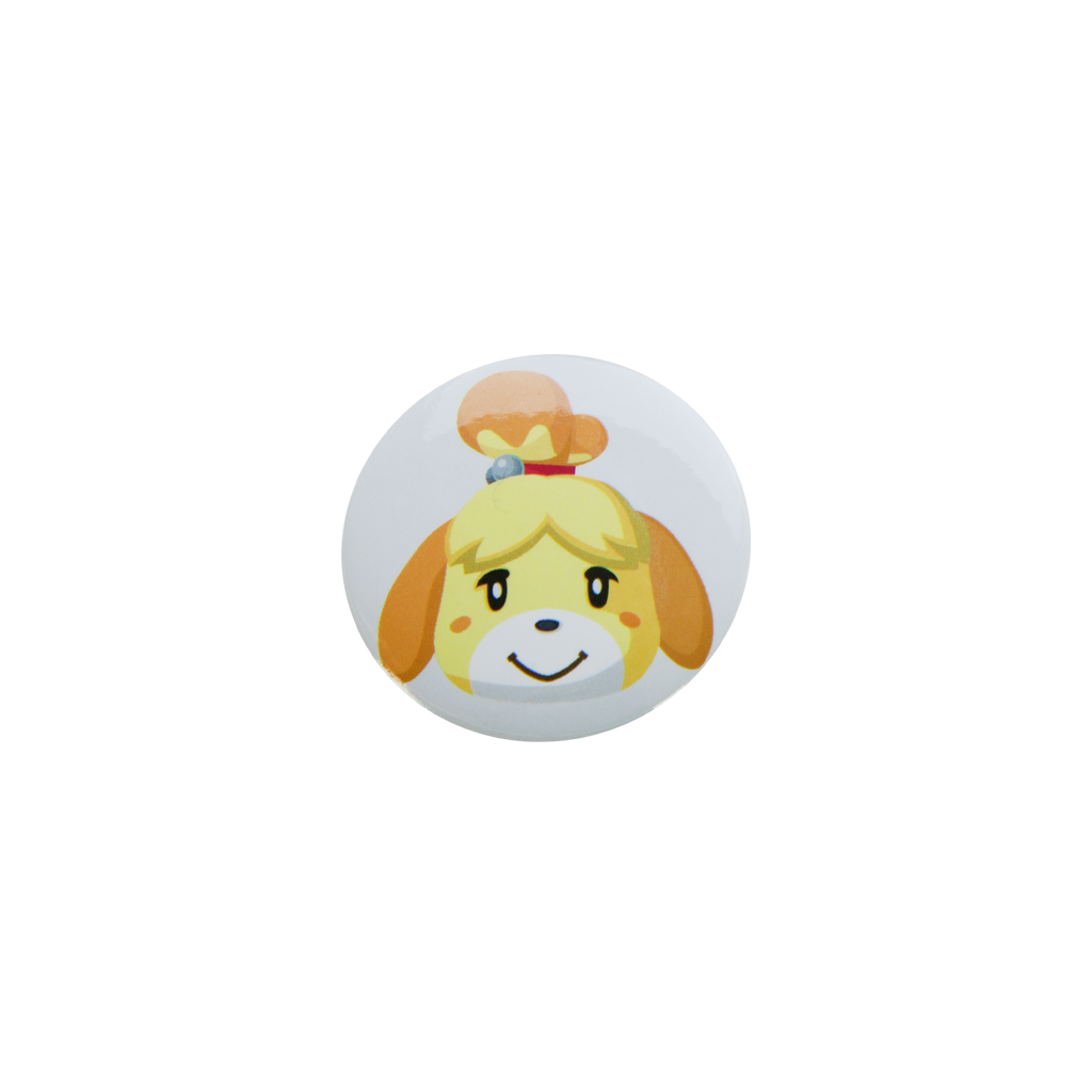 Animal Crossing Isabelle Button