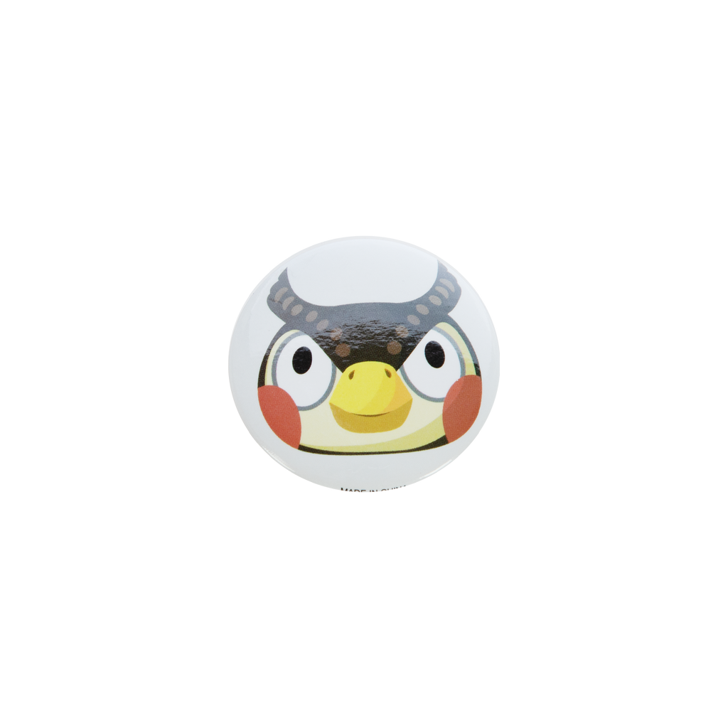 Animal Crossing Blathers Button
