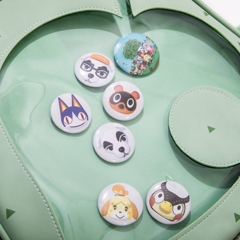 Animal Crossing Rover Button