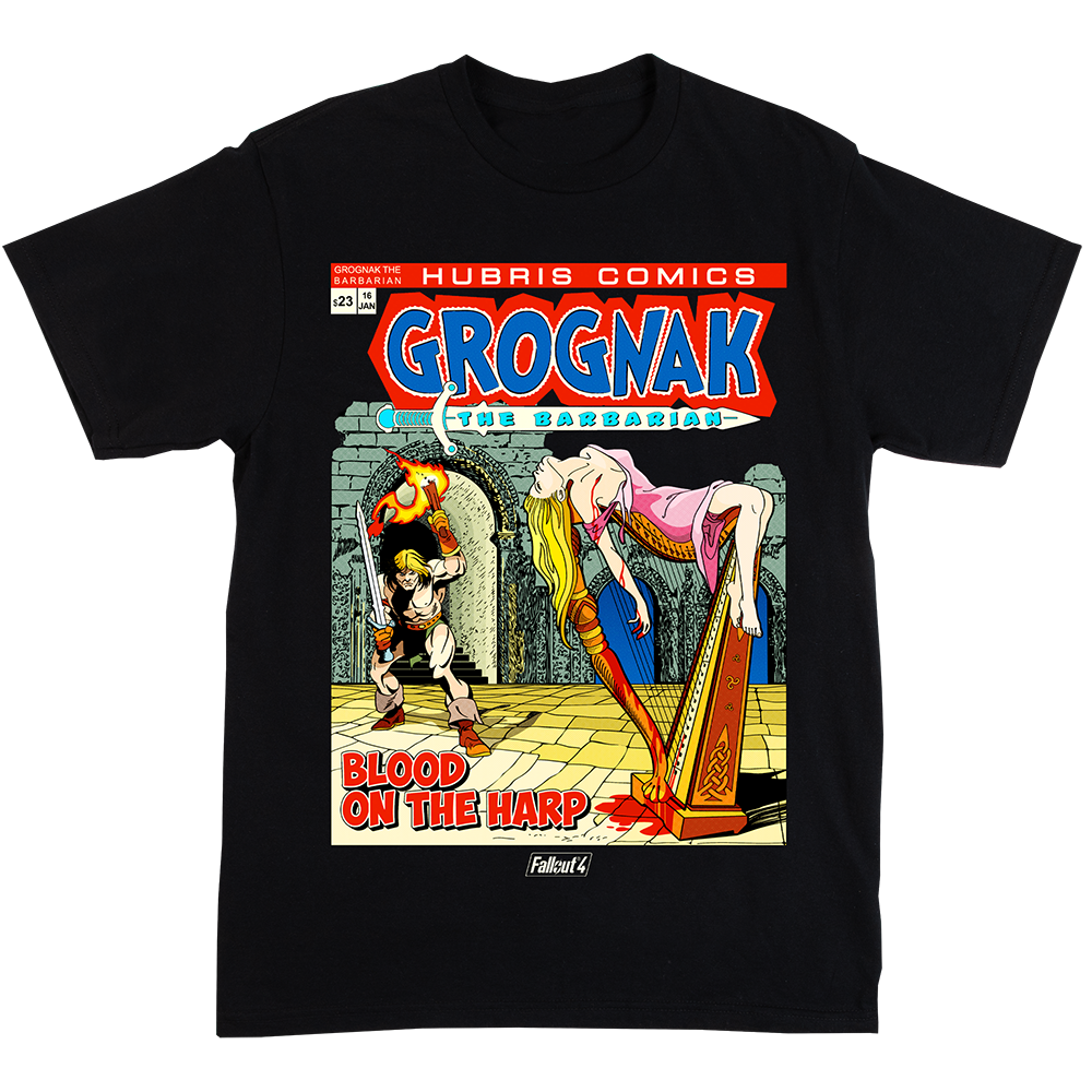 Fallout Grognak The Barbarian Tee