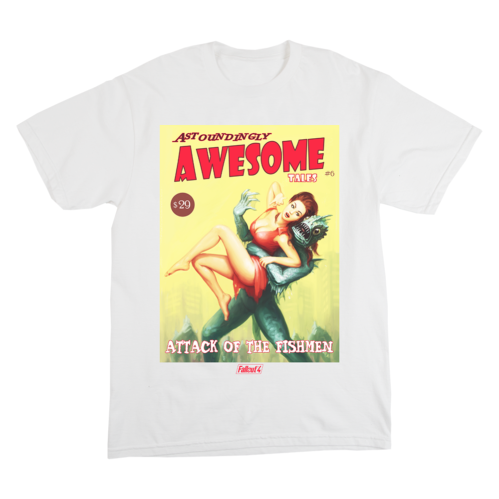 Fallout Astoundly Awesome Tee