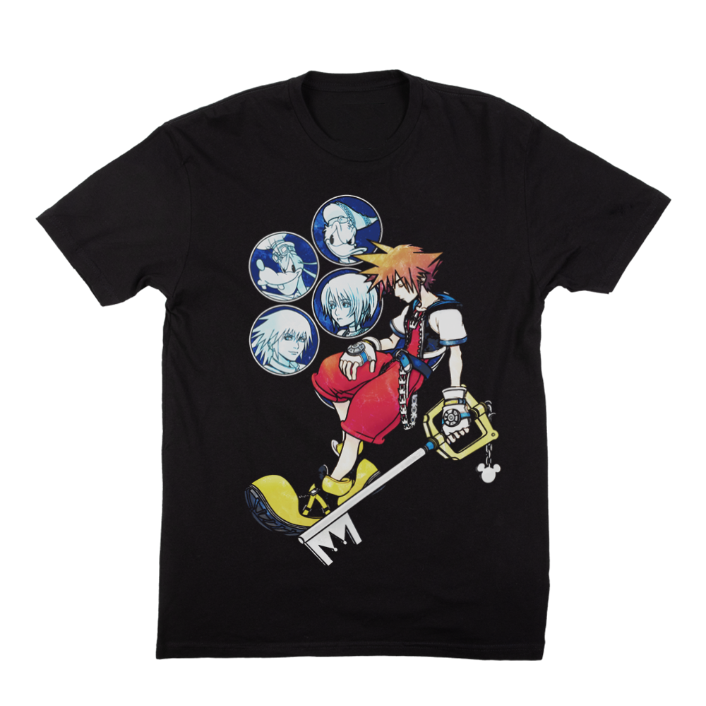 Kingdom Hearts Sora Tee