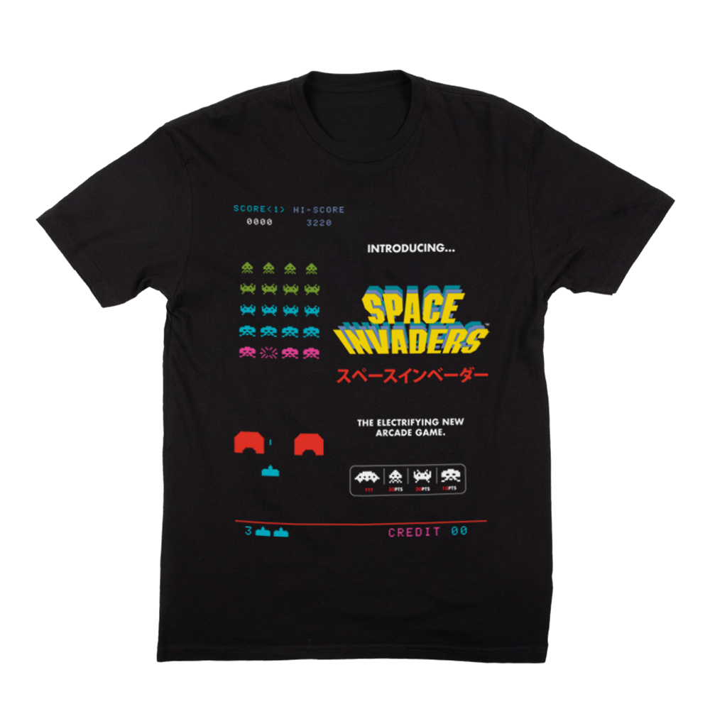 Space Invaders Tee