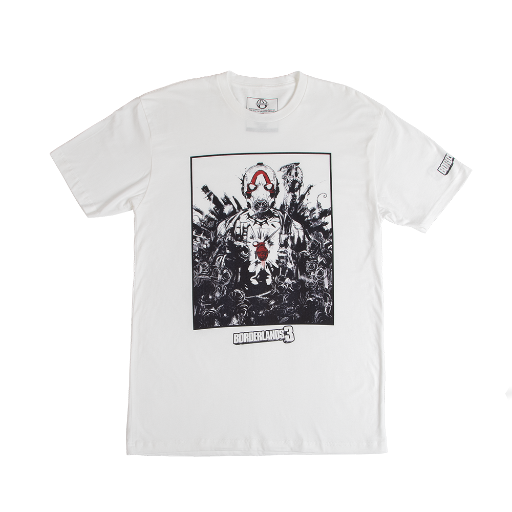 Borderlands 3 Key Art White Tee
