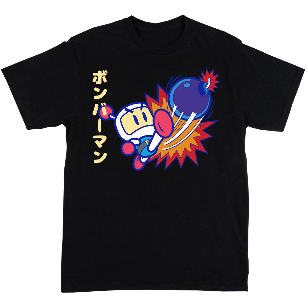 Bomberman Black Tee