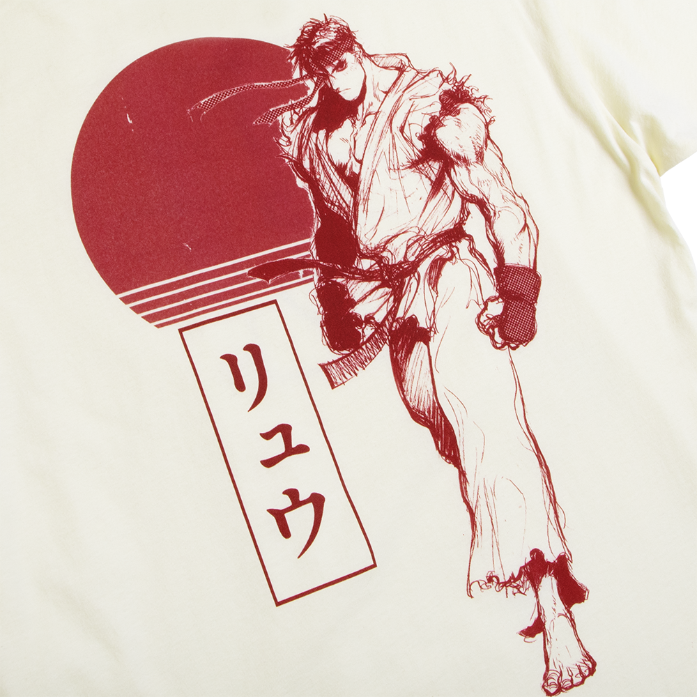 Street Fighter Ryu Concept Tee